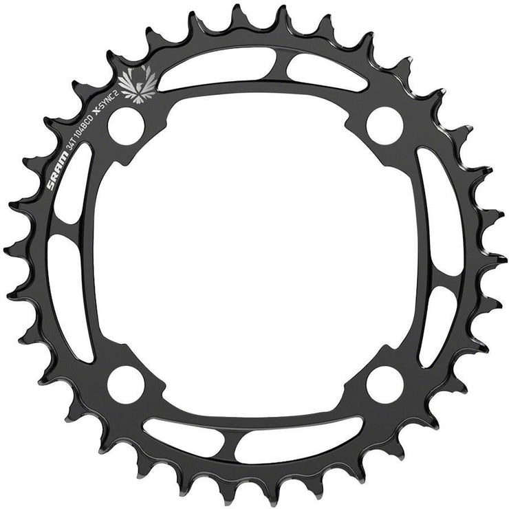 SRAM X-Sync 2 Steel Eagle Chainring - 34T, 104mm Bolt Circle Diameter full view