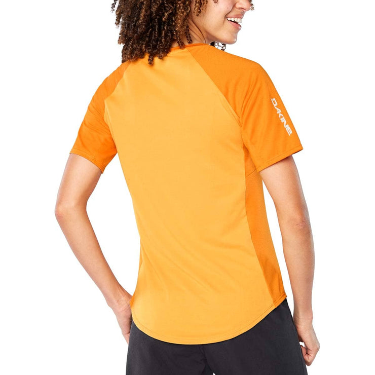 Dakine Women's Xena Mountain Bike Jersey Desert Block back view