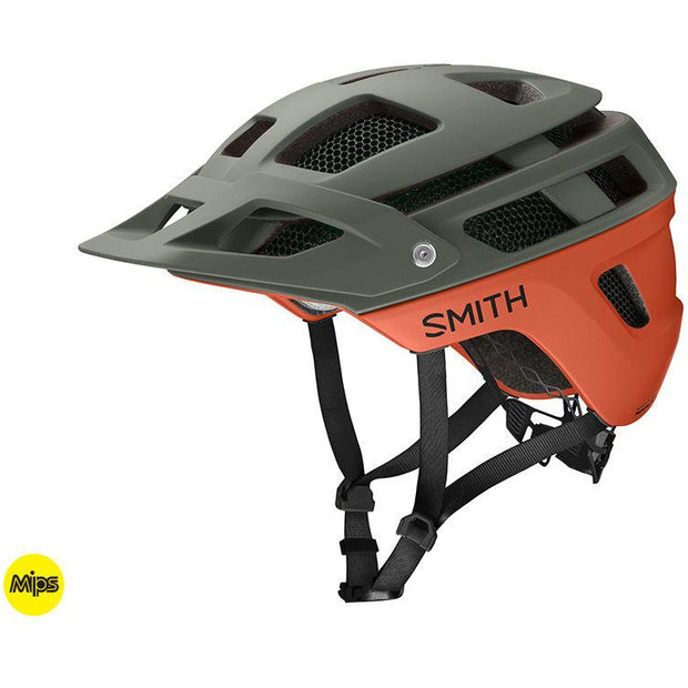 Smith Forefront 2 MIPS Mountain Bike Helmet, Matte Sage, Full View