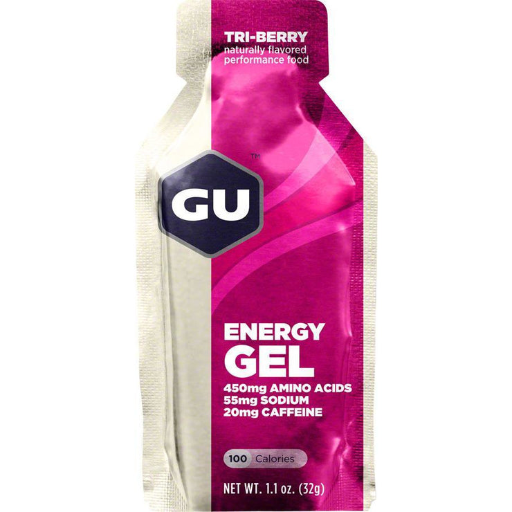 GU Energy Gel Tri Berry full view