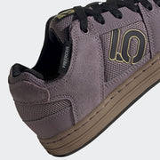 Five Ten Women's Freerider flat pedal shoe Legacy Purple/Black/Gum sole view