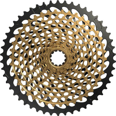SRAM XG-1299 Eagle 10-50 12 Speed Cassette Gold  full view