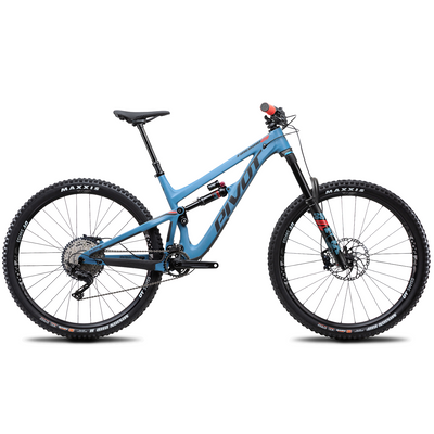 Pivot Firebird Race XT slate blue full view