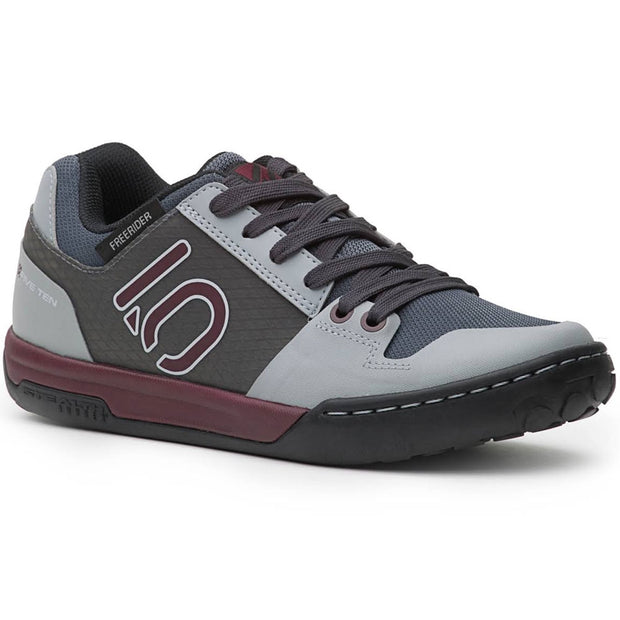 Five Ten Women's Freerider Contact mountain bike shoe maroon onyx