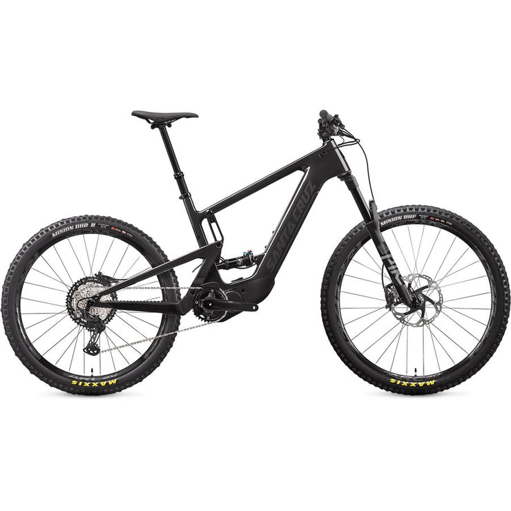 2021 Santa Cruz Heckler 8 CC MX XT  gloss carbon full view