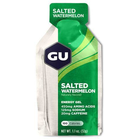 Gu Energy Gel Salted Watermelon full view