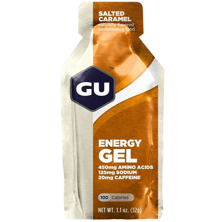 Gu Energy Gel Salted Caramel full view