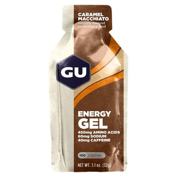 GU Energy Gel Caramel Macchiato full view
