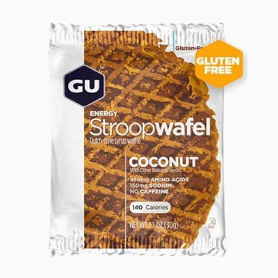 Gu Stroopwafel Coconut full view