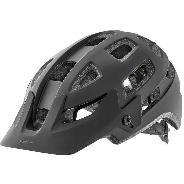 Giant Rail SX Helmet with MIPS black full view