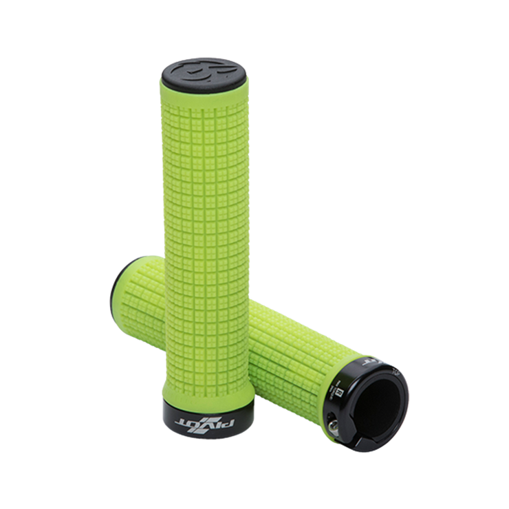 Pivot Phoenix Lock-On Grips green full view