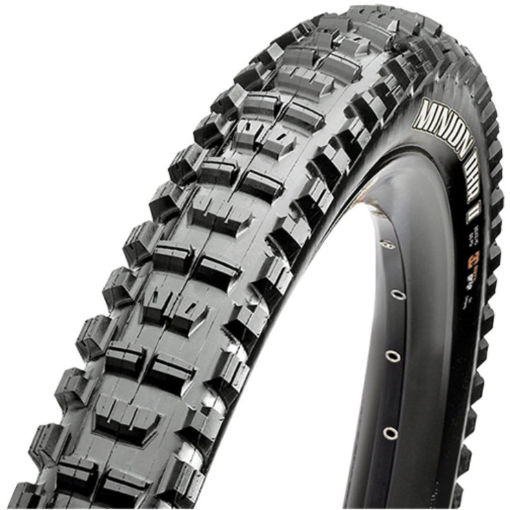 Maxxis DHR II 27.5x2.60WT 40PSI DC/EXO/TR Mountain Bike Tire Full View