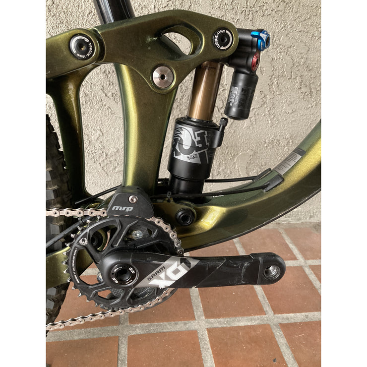 Giant Reign 29 0 crank and rear shock