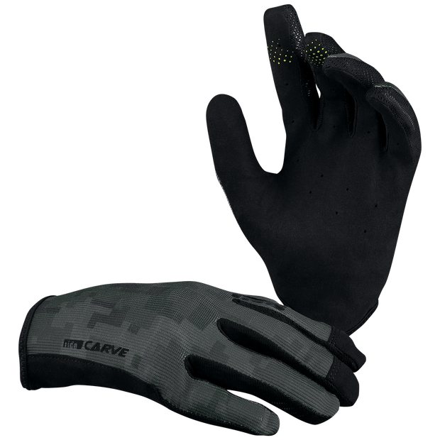 IXS black camo gloves