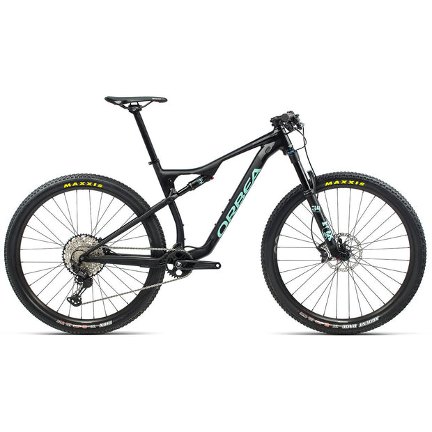 Orbea Oiz H20 black/green full view