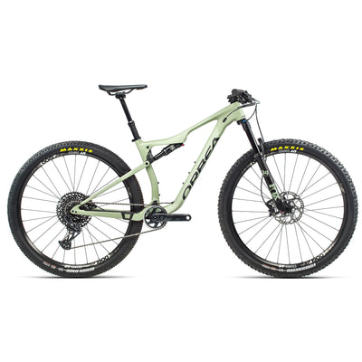 2021 Orbea Oiz M20 TR, Lichen Green/Black, Full View
