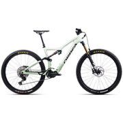 2021 Orbea Rise M10, White/Green, Full View