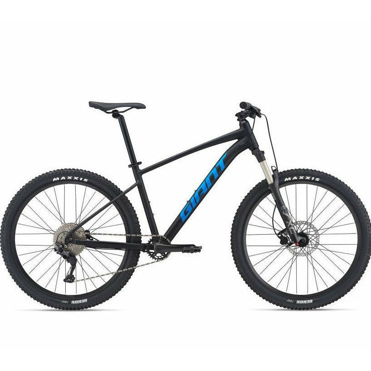 2021 Giant Talon 27.5 1, Black, Full View