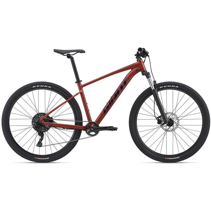 2021 Giant Talon 29 2 red clay full view
