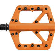 Crankbrothers Stamp 1 Platform Pedal, Orange, Full View