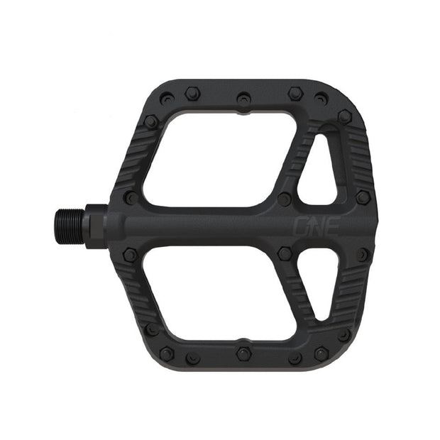 OneUp Components Composite Platform Pedals black full view