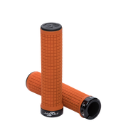 Pivot Phoenix Lock-On Grips orange full view