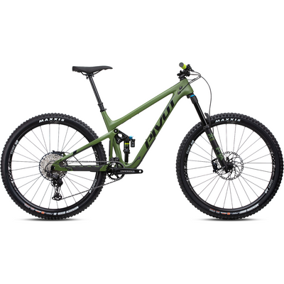 Pivot Switchblade Race XT 29 green full view