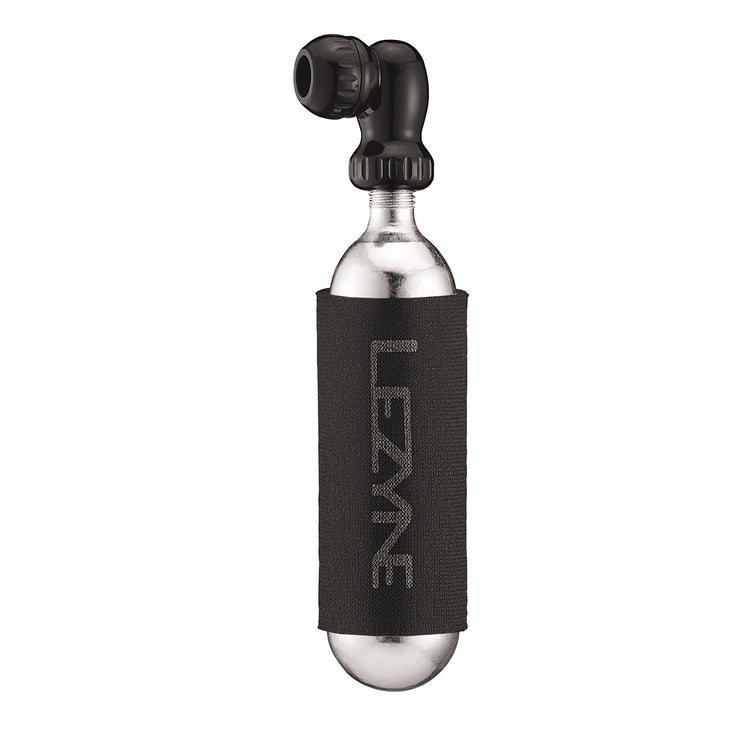 Lezyne Twin Speed Drive CO2 25g, Black, Full View