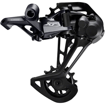 Shimano XT RD-M8100-SGS Rear Derailleur - 12-Speed, Long Cage, Black, For 1x, Full View