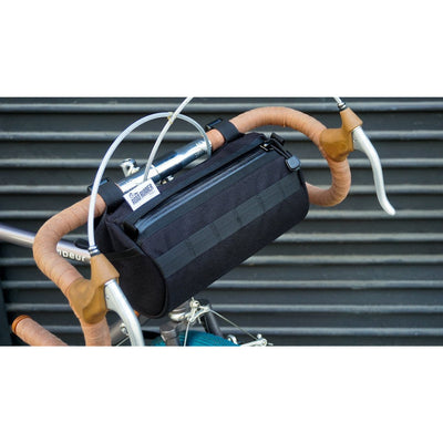 Road Runner California Burrito Handlebar Bag black full view