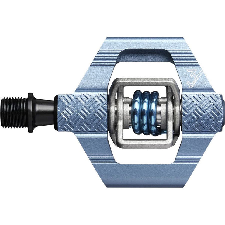 Crankbrothers Candy 3 Pedals slate blue full view