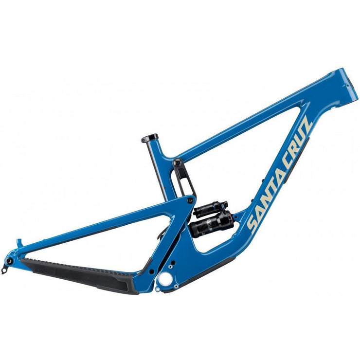 Santa Cruz Hightower 2 CC frame blue full view