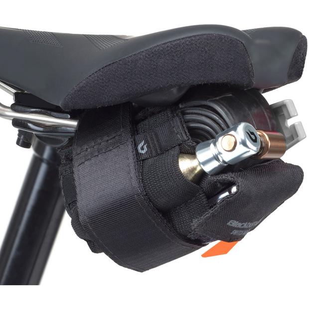 Blackburn switch wrap multitool on saddle