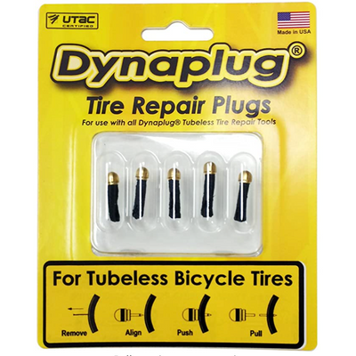 Dynaplug soft tip repair kit 5-pack full view