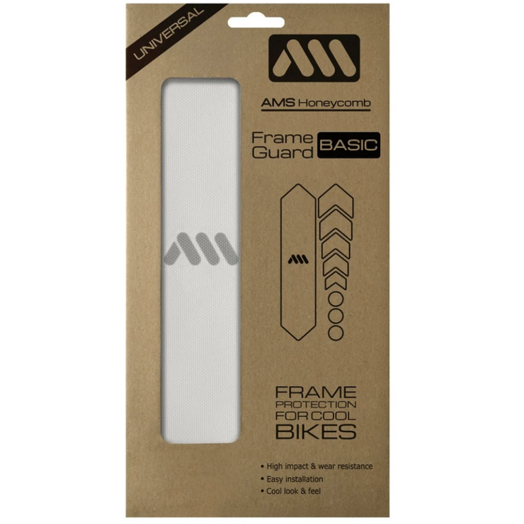 AMX Frame Guard Basic Clear in package