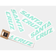 Santa Cruz Custom Downtube Decal forest service green in package