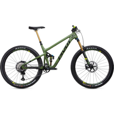 Pivot Switchblade Pro XT green full view