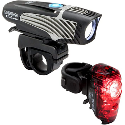 NiteRider Lumina 1100 Boost Lights Combo full view