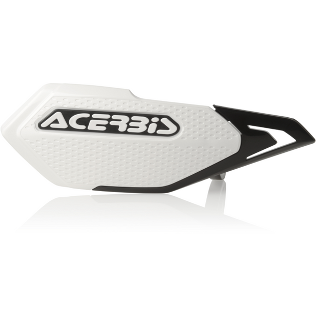 Acerbis X-Elite Handguard White/Black full view