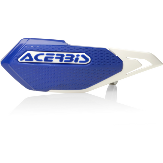 Acerbis X-Elite Handguard Blue/White full view