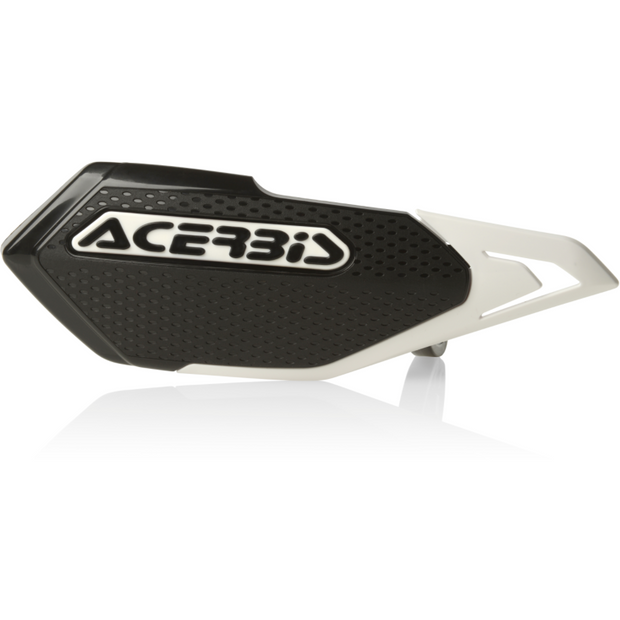 Acerbis X-Elite Handguard Black/White full view