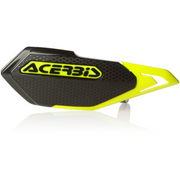 Acerbis X-Elite Handguard Black/Yellow full view