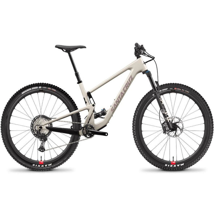 Santa Cruz Tallboy 4 C 29 XT Build with Reserve Wheels ivory full view