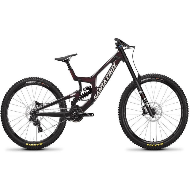 Santa Cruz V10 7 MX S-Kit Oxblood full view