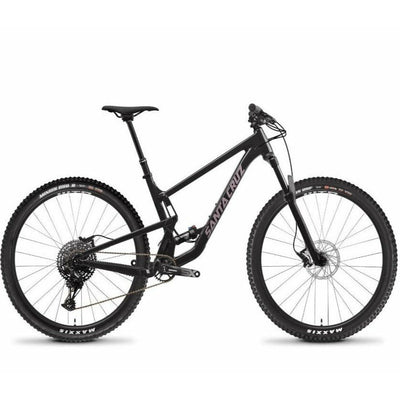 Santa Cruz Tallboy 4 Aluminum 29 D ebony full view
