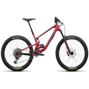 Santa Cruz 5010 C 27.5 S-Kit raspberry sorbet full view