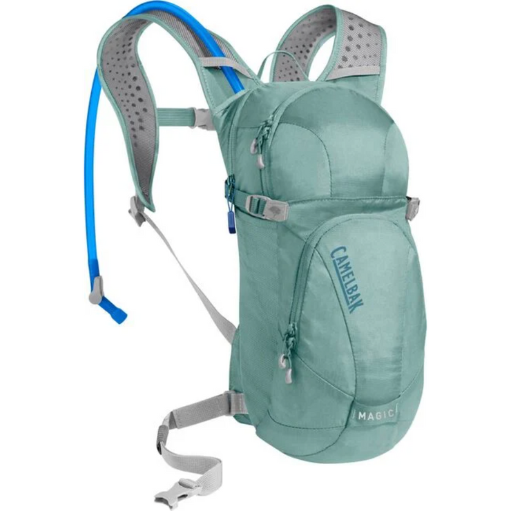 Camelbak Magic 70oz mineral blue front view