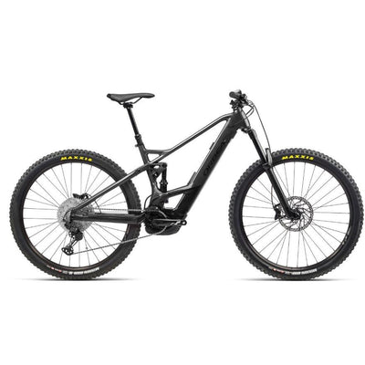 Orbea Wild FS H25 black/grape full view