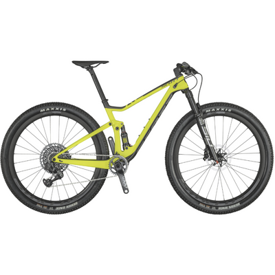 Scott Spark RC 900 WC AXS bright yellow full view