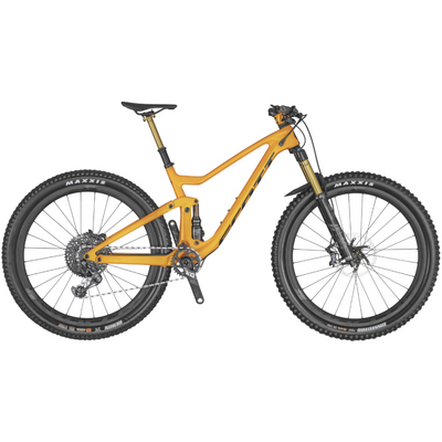 Scott Genius 900 Tuned AXS Orange full view